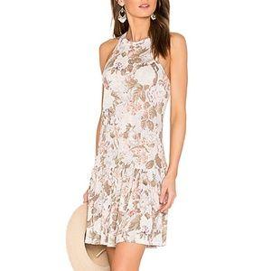 Rebecca Taylor Penelope floral linen dress
